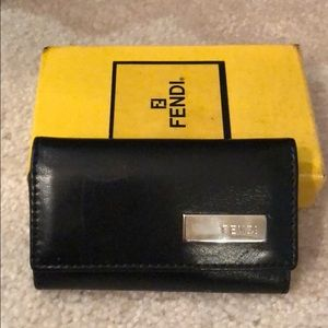 Fendi Accessories - Fendi Leather Key Chain
